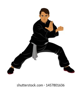 Vector - Silat Martial Arts from Indonesia