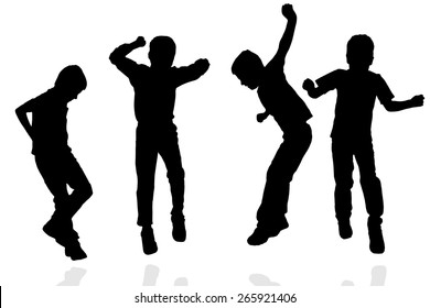 Boy Silhouette Images Stock Photos Vectors Shutterstock Choose from over a million free vectors, clipart graphics, vector art images, design templates, and illustrations created by artists worldwide! https www shutterstock com image vector vector silhouette boy on white background 265921406