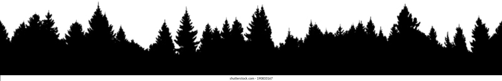forest silhouette images  stock photos   vectors clipart christmas presents clip art christmas images