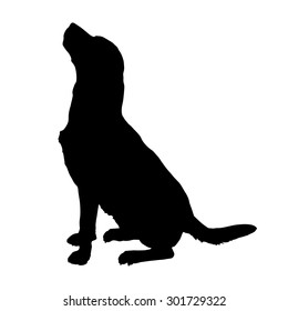 dog silhouette images stock photos vectors shutterstock