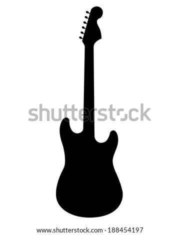 A vector silhouette of
