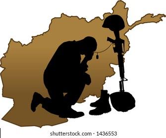 fallen soldier images stock photos vectors shutterstock