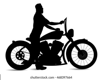 boy girl go adventure trip motorcycle stock illustration 379717354 Yamaha Cafe Racer vector silhouette motorcycle and man on white background