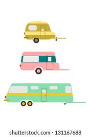 Retro Caravan Images, Stock Photos & Vectors | Shutterstock