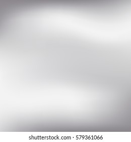 Vector silver blurred gradient style background. Abstract smooth colorful illustration, social media wallpaper.