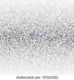 Vector silver dot pattern. Geometric color background