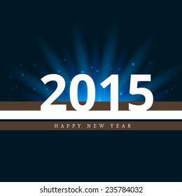 vector simple and attractive background of 2015