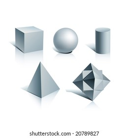 vector simple shapes