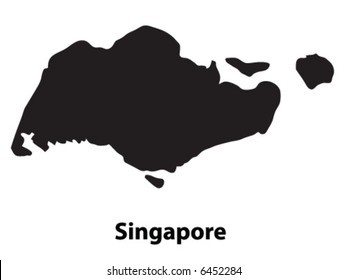 Vector of Singapore
