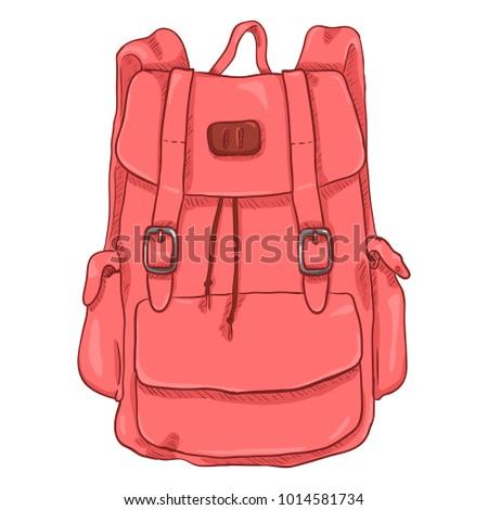 Vector Single Pink Cartoon Casual Style Stock Vector (Royalty Free ... fb78099ad8154