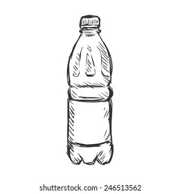 Water Bottle Sketch Images, Stock Photos & Vectors