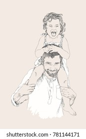 Family Sketch Images Stock Photos Vectors Shutterstock