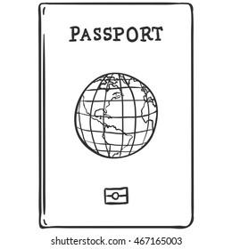 Vector Sketch Passport