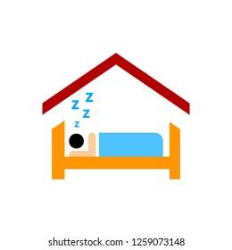 vector sleep icon