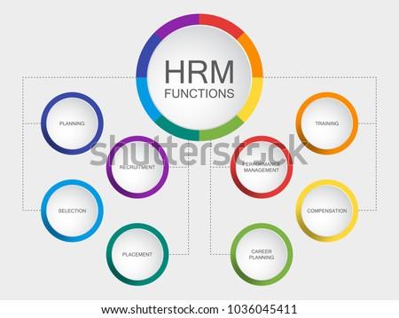 vector slide template circle diagram human stock vector royalty