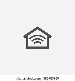 Vector smart home Icon