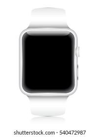 Vector Smartwatch Wearable Gadget