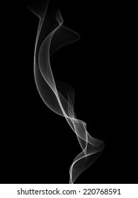 Vector Smoke - Realistic smoke vector.  Smoke object is behind a clipping mask and extends beyond artboard.  To release clipping mask, select all and then click: object > clipping mask > release.