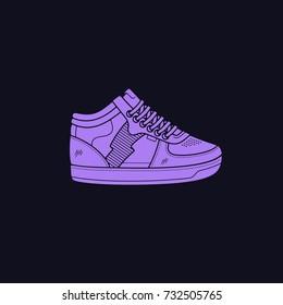 Vector Sneakers / Hip-Hop Shoes