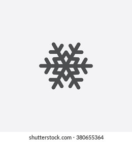 Vector snowflake Icon