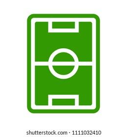vector soccer stadium illustration, football arena field