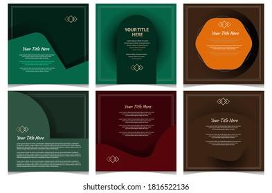 Vector Social media banner design. Editable file in eps.10
