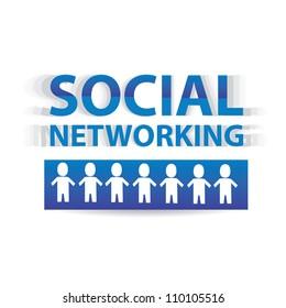 vector social media icon. vector illustration of social media.