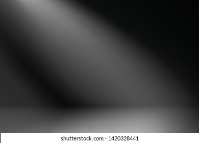 Vektorillustration, weiche schwarze Farbe zur Illustration eines kalten schwarzen Hintergrund