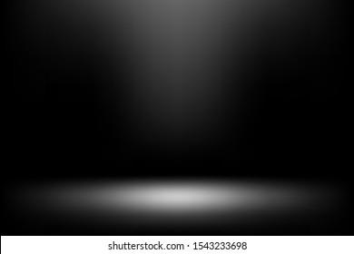 Vektor-weiche schwarze Farbe für die Illustration kalten schwarzen Hintergrund.