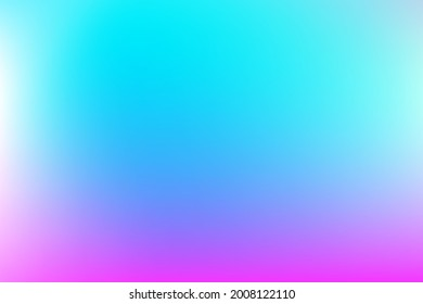 Vector soft cloud background in pastel colorful gradation. Abstract blurred gradient pastel color palette. Texture decorative elements with gradient and freedom style. Eps 10 vector