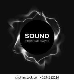 vector sound wave. radial equalizer. dynamic volume.