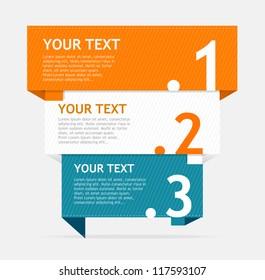 Vector speech template for text