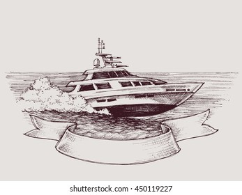 Vector speed boat