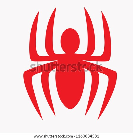 vector spider characters for