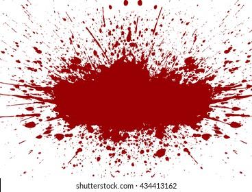 Vector splatter red color background.illustration vector design