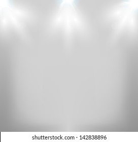 Vector Stage Lights, easy all editable
