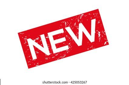 Vector stamp Grunge - New