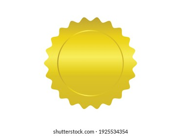 Vector Stamp without text. Set of Stamps
