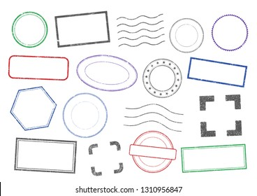 Vector Stamps frames 2