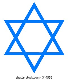 Vector of Star of David