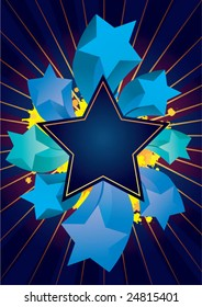 vector star frame