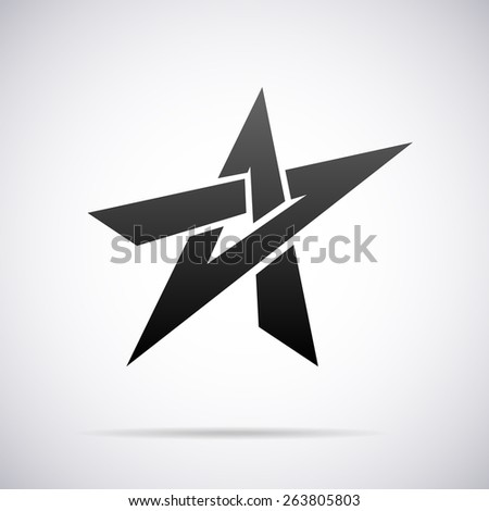 vector star logo design template のベクター画像素材 ロイヤリティ