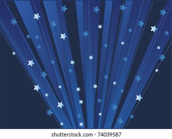 vector stars background