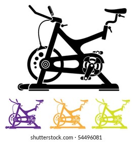 vector stationary bicycle
