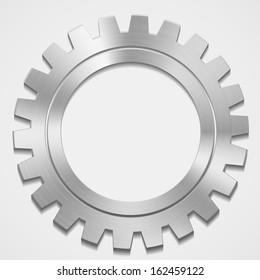 vector steel gear