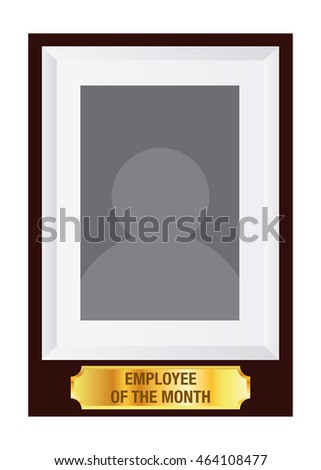 vector stock employee month award photo stock vector royalty free