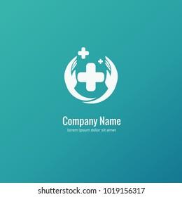 Blood Donation Logo Template Design Vector Stock Vector Royalty