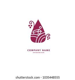 Imagenes Fotos De Stock Y Vectores Sobre Logo De Uvas Shutterstock