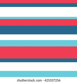 Vector Striped Pattern, Seamless Background.