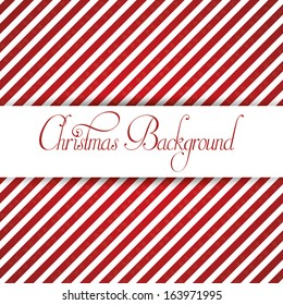A Vector Stylish Christmas White And Red Background